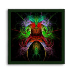 Carnaval Abstract Art Square Envelope