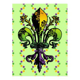 Carnaval antiguo Fleur Postales