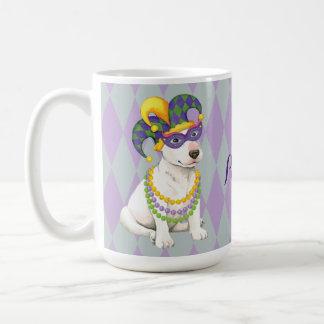 Carnaval bull terrier taza clásica