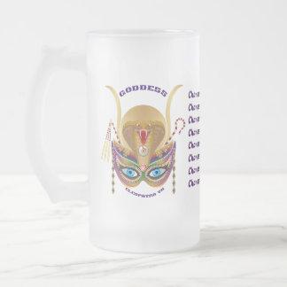 Carnaval Cleopatra VII leído sobre diseño abajo Tazas De Café
