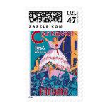Carnaval de 1936, el 22-25 de febrero, Panamá Sello Postal