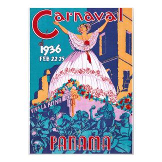 Carnaval de 1936, Feb. 22-25, Panama Card