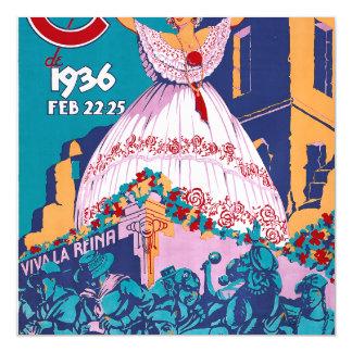 Carnaval de 1936, Feb. 22-25, Panama Magnetic Card