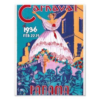 Carnaval de 1936, Feb. 22-25, Panama Photo Print
