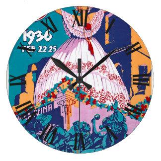 Carnaval de 1936, Feb. 22-25, Panama Wallclock