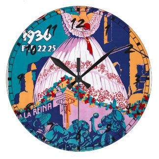 Carnaval de 1936, Feb. 22-25, Panama Wallclocks