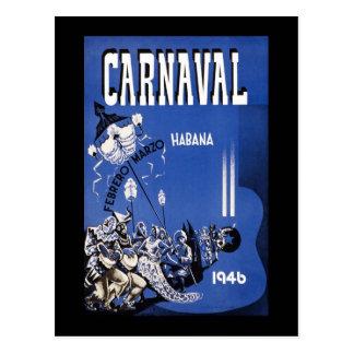 Carnaval de Habana Carnaval La Habana Tarjeta Postal