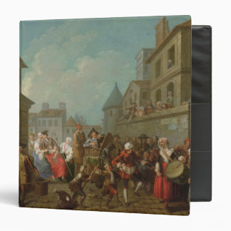 Carnaval de la calle en París, 1757