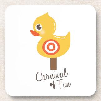Carnaval de la diversión posavaso