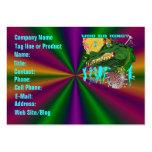 Carnaval de la tarjeta de visita de la plantilla