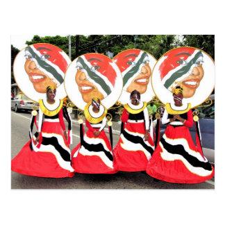 Carnaval de los niños, Trinidad and Tobago Postales