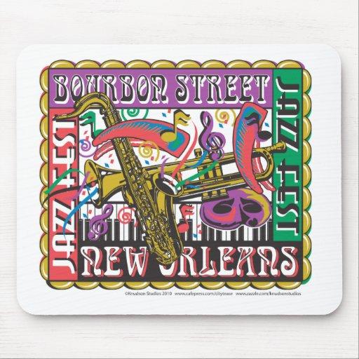 Carnaval de New Orleans Mousepad
