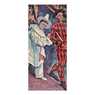 Carnaval de Paul Cézanne (la mejor calidad) Diseño De Tarjeta Publicitaria