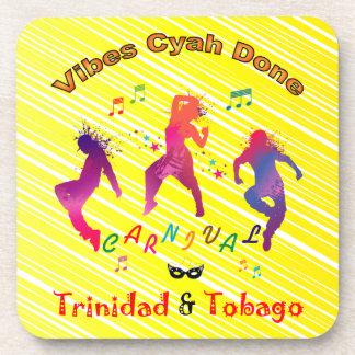 Carnaval de Trinidad and Tobago Posavasos De Bebidas