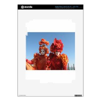Carnaval de Venecia Pegatinas Skins Para iPad 3