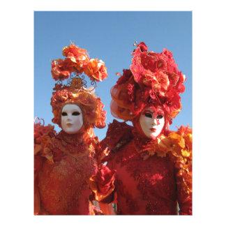 Carnaval de Venecia Plantillas De Membrete