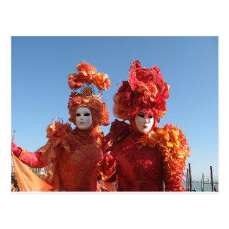 Carnaval de Venecia Tarjetas Postales