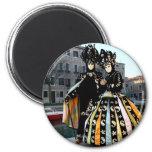 Carnaval de Venise1 Imán Redondo 5 Cm