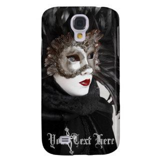 Carnaval del caso duro vivo de Venecia HTC Carcasa Para Galaxy S4
