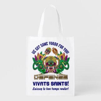 Carnaval del fútbol leído sobre diseño bolsas de la compra