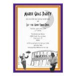 Carnaval del jazz de New Orleans (púrpura)