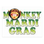 Carnaval del mono postal