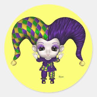 Carnaval del mundo de Blythe - pegatinas Pegatina Redonda