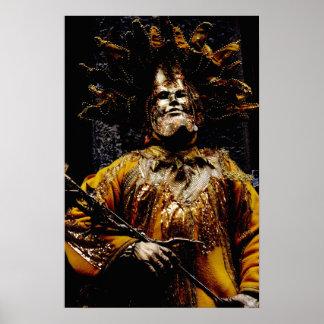 Carnaval del poster de Venecia