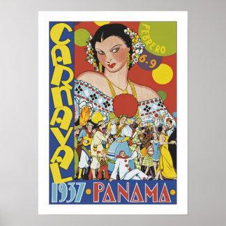 Carnaval en Panamá Posters