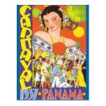 Carnaval en Panamá Tarjetas Postales