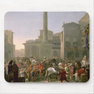 Carnaval en Roma, c.1650-51 Tapete De Ratones