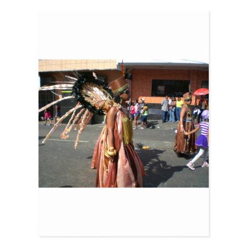 Carnaval en Trinidad 2010 Postal
