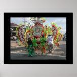 Carnaval en Trinidad 2010 Póster