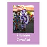 Carnaval en Trinidad Tarjeta Postal