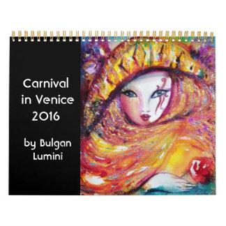 Carnaval en Venecia 2016 /Dance, música, teatro Calendarios