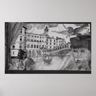 Carnaval en Venecia Impresiones