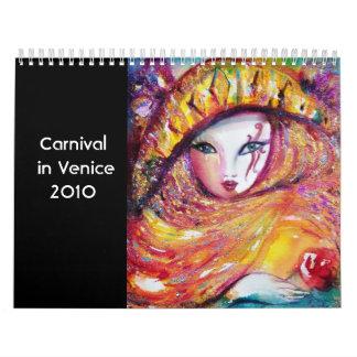 Carnaval en Venecia teatro de la música de 2 - de  Calendario