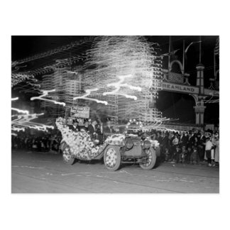 Carnaval Flashes 1910 Tarjeta Postal
