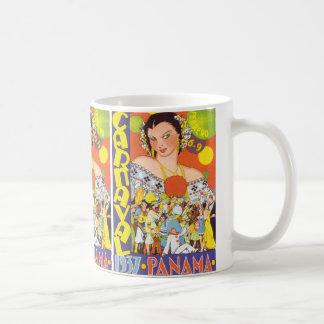 Carnaval in Panama Classic White Coffee Mug
