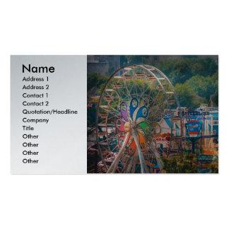Carnaval - la noria tarjeta de visita