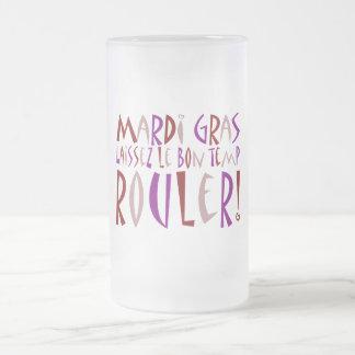 ¡Carnaval - Laissez Le Bon Temp Rouler! Taza Cristal Mate