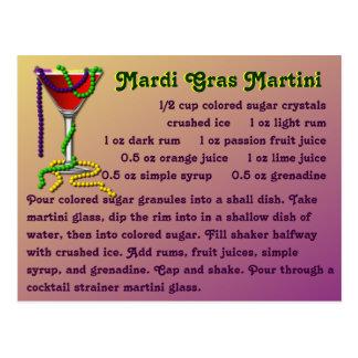 Carnaval Martini Postal