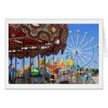 Carnaval Notecard en blanco