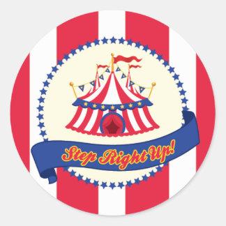 Carnaval o pegatina del circo