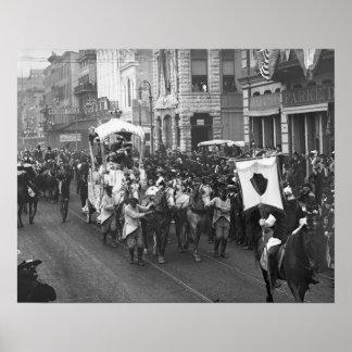 Carnaval Parade, 1906 Póster