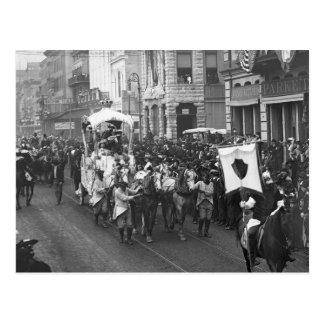 Carnaval Parade, 1906 Tarjetas Postales