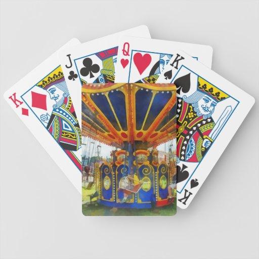 Carnaval - paseo estupendo del oscilación cartas de juego