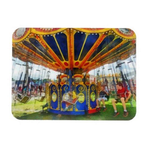 Carnaval - paseo estupendo del oscilación imán de vinilo