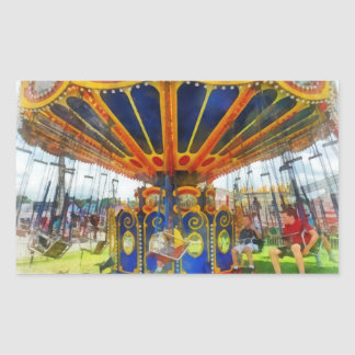 Carnaval - paseo estupendo del oscilación etiqueta