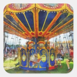 Carnaval - paseo estupendo del oscilación colcomanias cuadradases
